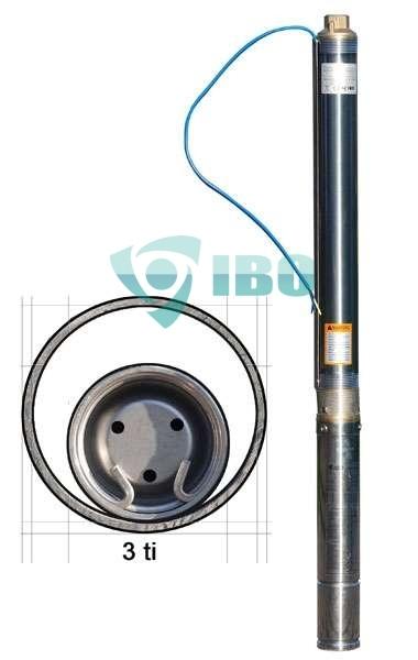 IBO 3ti37 Csõkút szivattyú 20 m kábellel