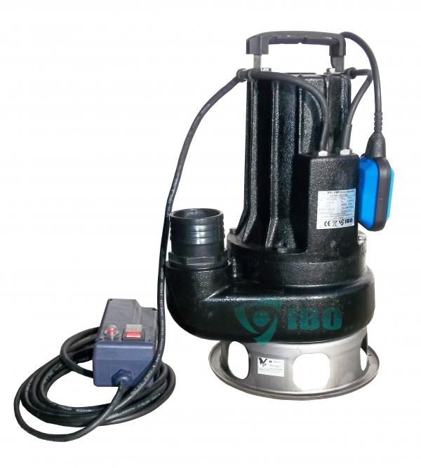 IBO BIG 1500 Szennyezett víz és szennyvíz szivattyú