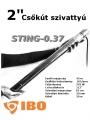 IBO 2 col Sting-0,37 Csavarszivattyú